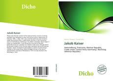 Buchcover von Jakob Kaiser