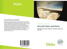 Bookcover of Aircraft Sales and Parts