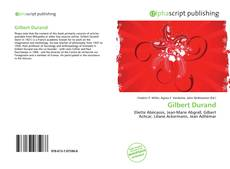 Bookcover of Gilbert Durand