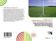Capa do livro de 1958–59 French Division 1