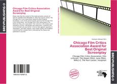 Bookcover of Chicago Film Critics Association Award for Best Original Screenplay