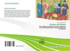 Capa do livro de Action de Grâce