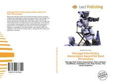 Bookcover of Chicago Film Critics Association Award for Best Screenplay