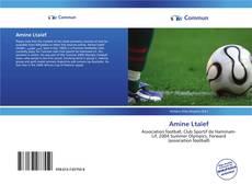Bookcover of Amine Ltaïef