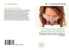 Buchcover von Laboratoire de recherche