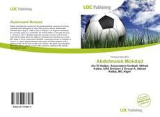 Capa do livro de Abdelmalek Mokdad