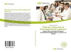 Pôle de recherche et d'enseignement supérieur kitap kapağı