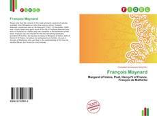 Buchcover von François Maynard