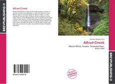 Bookcover of Alfred Creek