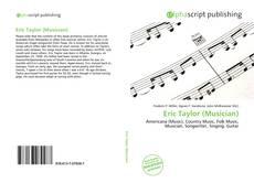 Portada del libro de Eric Taylor (Musician)