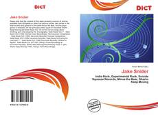 Bookcover of Jake Snider