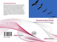 Bookcover of Christmas Bird Count