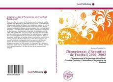 Bookcover of Championnat d'Argentine de Football 2001-2002