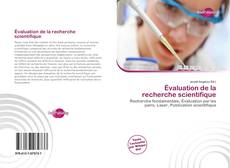 Bookcover of Évaluation de la recherche scientifique