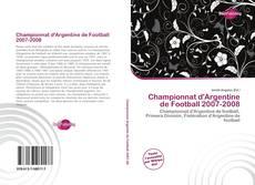 Buchcover von Championnat d'Argentine de Football 2007-2008