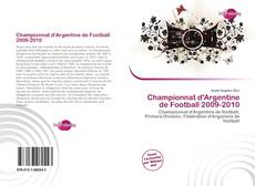 Bookcover of Championnat d'Argentine de Football 2009-2010