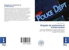 Buchcover von Brigade de recherche et d'intervention