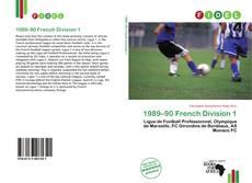 Capa do livro de 1989–90 French Division 1