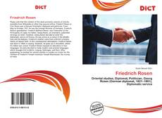 Bookcover of Friedrich Rosen