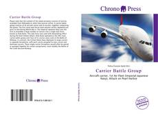 Bookcover of Carrier Battle Group