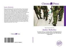 Capa do livro de Janko Bobetko