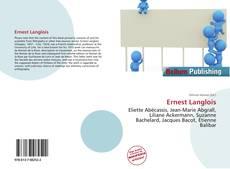 Buchcover von Ernest Langlois