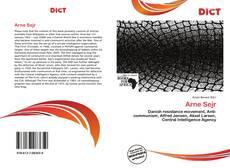 Bookcover of Arne Sejr