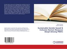 Capa do livro de Sustainable Gender based & Inclusive Human Resource Devpt Among PWD's