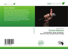 Carson Robison kitap kapağı