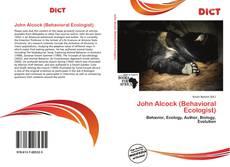 Copertina di John Alcock (Behavioral Ecologist)