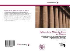 Bookcover of Église de la Mère-de-Dieu de Macao