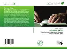 Bookcover of Herman Rupp