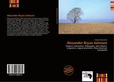 Alexander Bryan Johnson kitap kapağı
