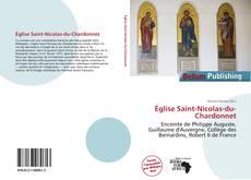 Bookcover of Église Saint-Nicolas-du-Chardonnet
