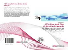 Bookcover of 1974 New York Film Critics Circle Awards