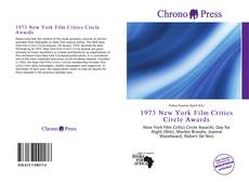Bookcover of 1973 New York Film Critics Circle Awards