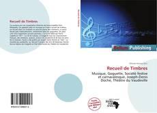 Bookcover of Recueil de Timbres