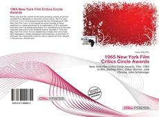 Bookcover of 1965 New York Film Critics Circle Awards
