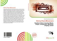 Portada del libro de Henry Paul (Musician)