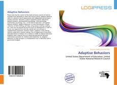 Bookcover of Adaptive Behaviors