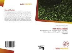 Bookcover of Hanns Maaßen