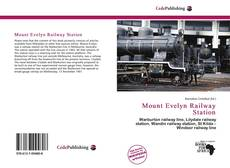Bookcover of Mount Evelyn Railway Station