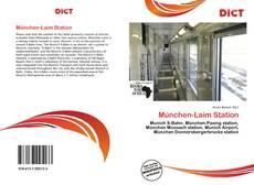 München-Laim Station kitap kapağı