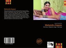 Portada del libro de Mahendra Kapoor