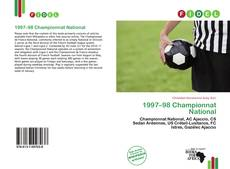 Bookcover of 1997–98 Championnat National