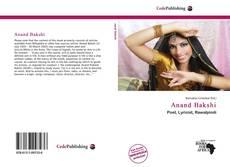 Bookcover of Anand Bakshi