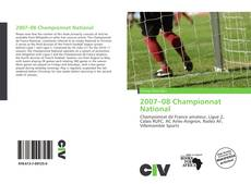 Bookcover of 2007–08 Championnat National