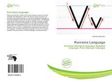 Borítókép a  Kurrama Language - hoz
