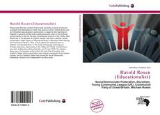 Bookcover of Harold Rosen (Educationalist)