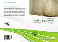Copertina di John McIntyre (politician)